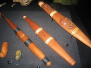 マオリの楽器など